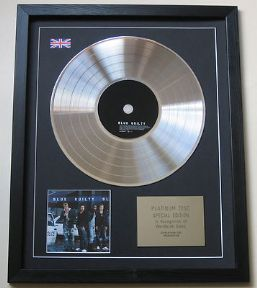 BLUE - Guilty CD / PLATINUM PRESENTATION DISC